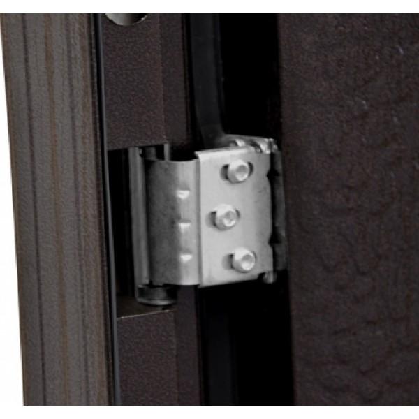 офисная двухстворчатая входная дверь москва