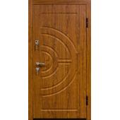 Входная металлическая дверь ПО 08 Дуб Золотой (Vinorit)