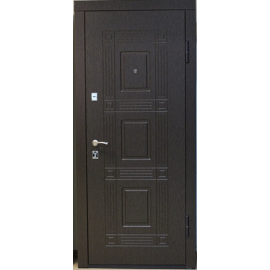 Входная металлическая дверь Золотой венге 702