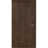 Входная металлическая дверь ПО 01  Вишня дымчатая