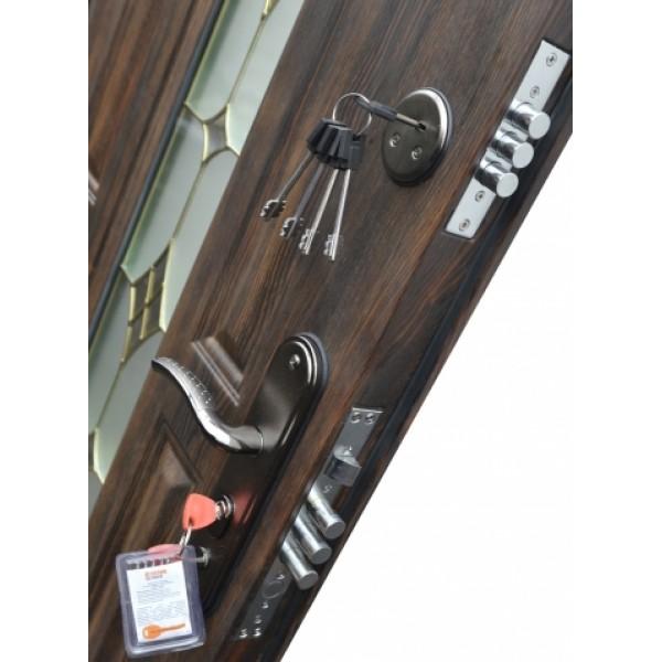 Входная металлическая дверь Тёплый нестандарт 240+